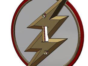 The Flash light switch cover