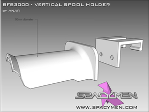 BfB3000 Vertical spool holder