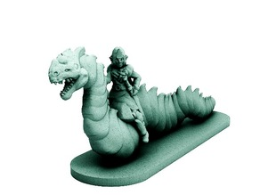 Wurm Rider (18mm scale)
