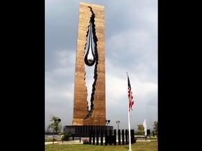 Tear of grief memorial