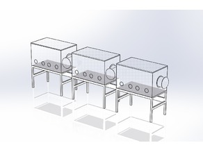 Glove Box Array for Medical or Manufacturing