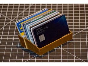 Desktop Credit Card Holder