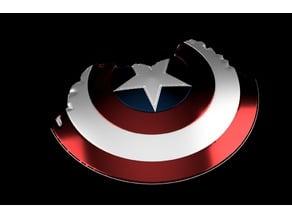 Captain America Broken Shield Endgame