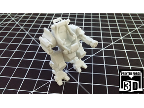 Printer Forge 3D Promotional Mech 002