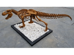 T-Rex Skeleton Femur Adjustment for different stance