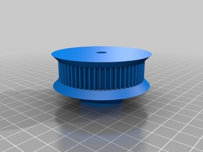 another gt2 pulley for my laser cutter z axis