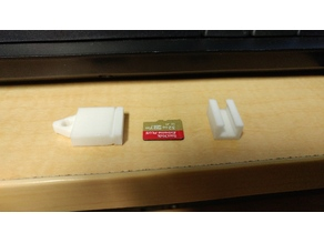Micro SD Card Keychain Caddy
