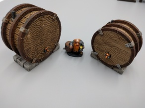 Fermentation Casks - Dwarven AleWorks - 28mm