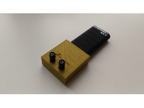 Box for powerbank with terminals