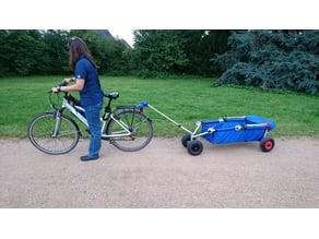 ULFBO - Fahrradkupplung für UlfBo Handwagen