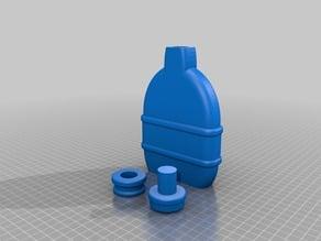 Bottle flask prop