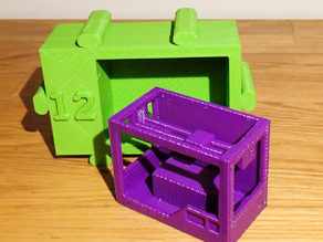 Advent Makerbot Replicator 2 no Support needed Day 12