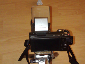 Sony Nex flash attachment for HVL-F7S
