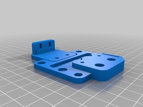 HICHIC/HICTOP X axis mount for Prusa i3 MK2S extruder + pinda probe