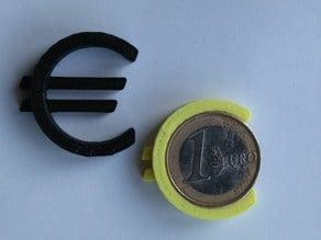Euro sign calibration test + keyring