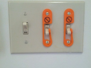 Light Switch Lock