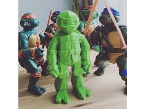 Lowpoly TMNT figurine!