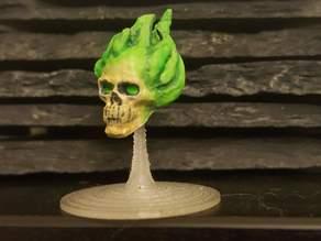 D&D Flameskull Miniature