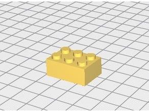 brique lego 2X3