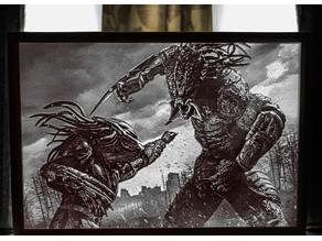 The Predator - Lithophane