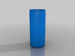 Beer container as insulation for a 500 mL can