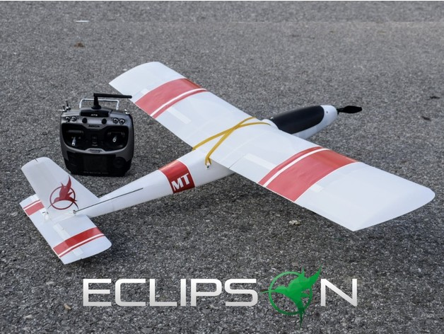 Free RC airplane by Eclipson - Thingiverse