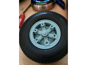 Trilex rim front hub cover