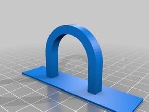 PVC Command Strip Circular Hook