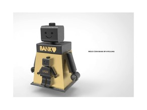 LEGO Coin Bank Decoration
