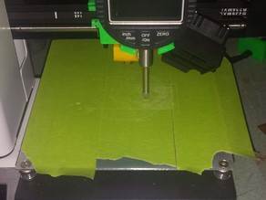 Indicator holder for Monoprice Mini printer