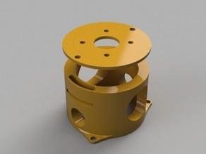 Nema17 Vertical Heavy duty adjustable motor mount.