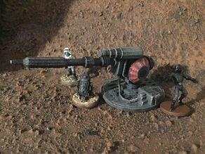 Super Blaster 920 Laser Cannon (star wars legion scale)