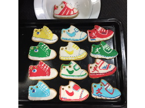NIKE shoe cookie cutter