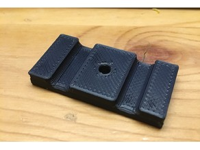 20mm Extrusion Cable Tie Plate (M3 Screw)