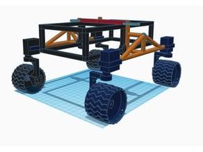 4 Wheel rover
