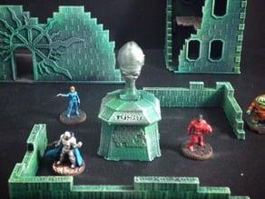 Alien Memorial Bust (15mm scale)