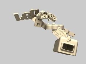 Linear extruder by a Keyfob