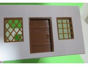 28mm Doors & Windows for Foam Core