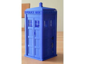 TARDIS case with removable Top for Raspberry Pi 2/3