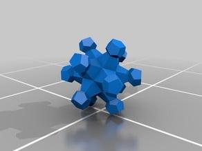 Dodecahedron fractal