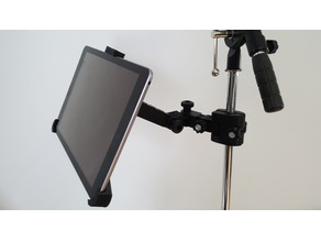 iPad Mic/Music Stand Holder