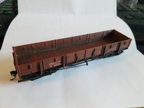 WAGR SN3.5 R Class Boogied Wagon (AMRA)