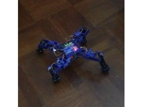 """3D Printed """"Transformers"""" Robot - Spiderbot V2"""