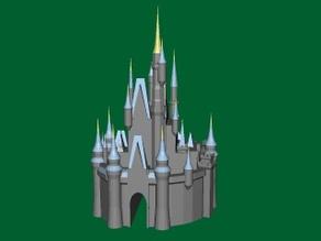 Cinderella's Castle from Disney World