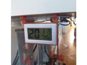 IKEA LACK Enclosure Temperature / Humidity Sensor LCD Mount