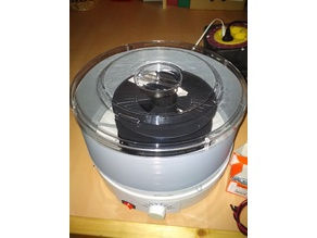 Filament Drying container for Food dryer