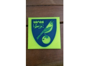 Norwich City FC Beermat MMU2