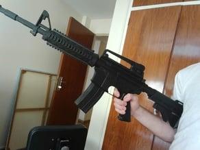 M4 carabine by garagelab - horizontal split - minimal supports