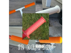 Bike grips 12 designs
