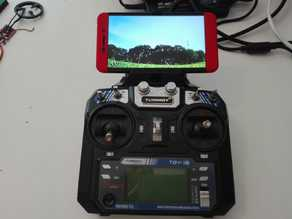 Flysky/Turnigy i6 phone holder